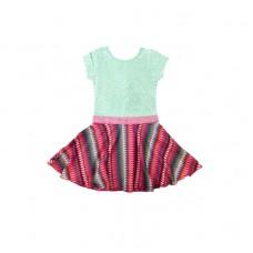 Lofff jurk Sweet dress short sleeves multicolour