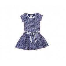 Lofff jurk lofffely short sleeves dark blue