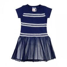 Lofff jurk Ricrac dress short sleeves