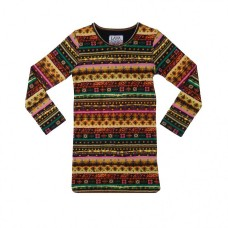 LavaLava jurk Aztec straight boho print