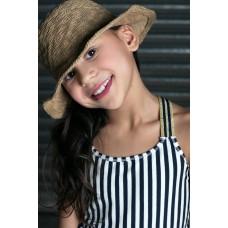 Lola Meis top navy/off white stripe