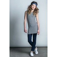 Lola Meis dress/jurk navy stripe