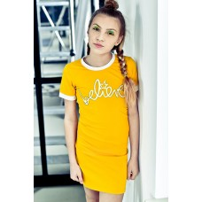 Lola Meis dress/jurk ochre 04
