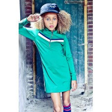 Lola Meis dress/jurk green (03)