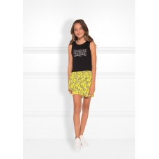 Nik&Nik short Bloom sunny yellow