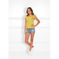 Nik&Nik top bloom sunny yellow