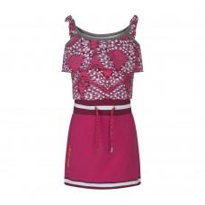 Ninni Vi jurk AOP 1 pink