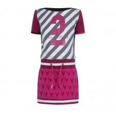 Ninni Vi jurk pink