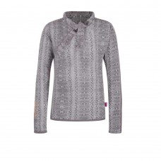 Ninni Vi shirt AOP 1 light grey