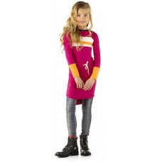 Ninni Vi jurk dark pink