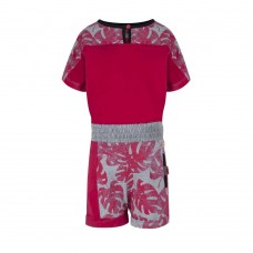Soft & Jolly jumpsuit red
