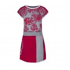 Soft & Jolly jurk red AOP 2
