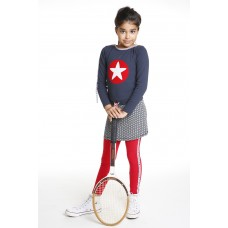 Topitm jurk Sandy navy star